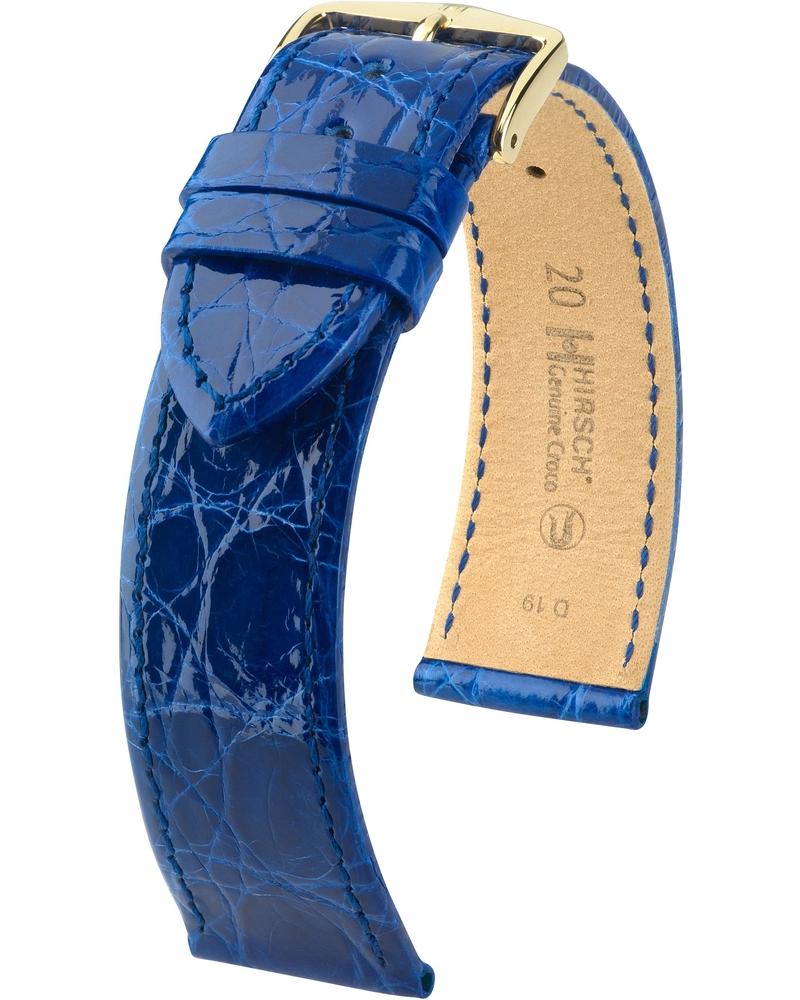 Genuine Croco Королевский синий Глянцевый